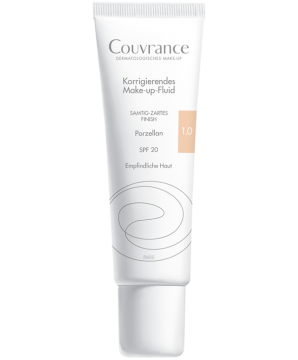 Couvrance Make-up-Fluid 1.0 Porzellan