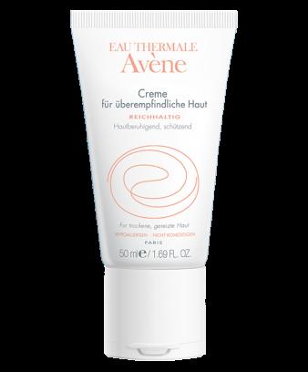 Creme für überempfindliche Haut reichhaltig