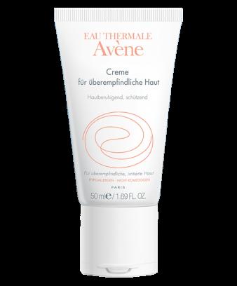 Creme für überempfindliche Haut leicht