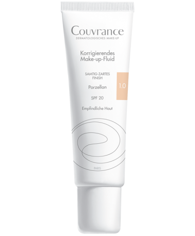 Couvrance Make-up-Fluid 1.0 Porzellan