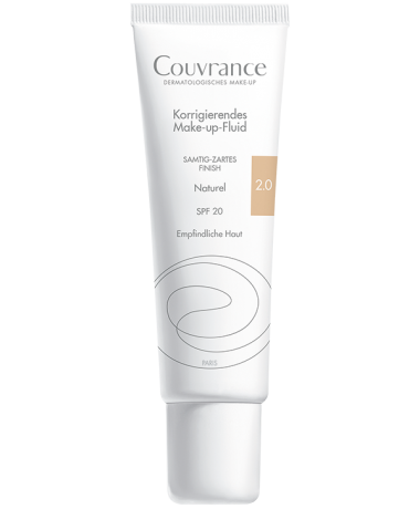 Couvrance Make-up-Fluid 2.0 Naturel