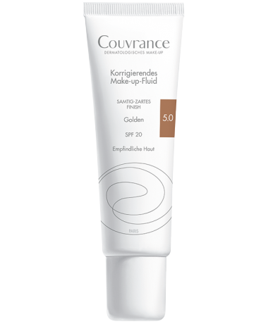Couvrance Make-up-Fluid 5.0 Golden