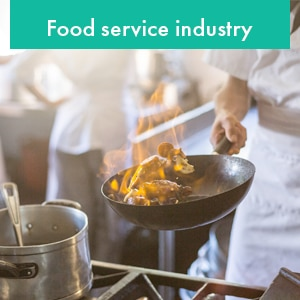 Food service industry