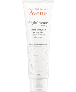 Bright'Intense cream foaming cleanser