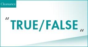 True / False