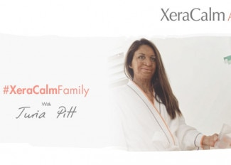 #XeraCalmFamily with Turia Pitt