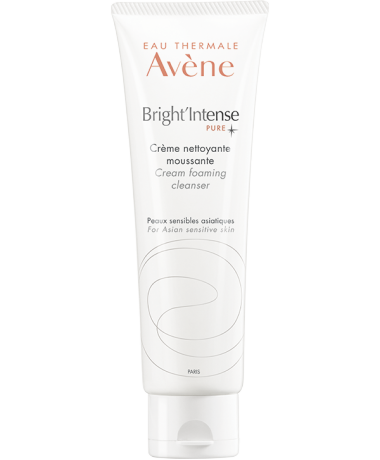 Bright'Intense cream foaming cleanser