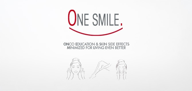 ONE SMILE: skin care for cancer patients