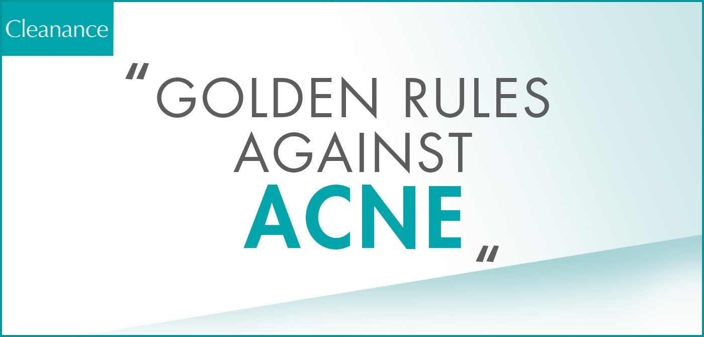 8 Rules to Care for Acne Prone Skin