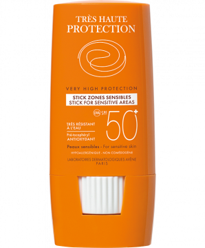 Stick zones sensibles SPF 50+