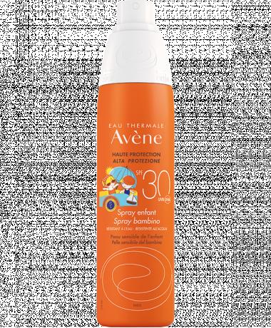 Spray SPF 30 voor kinderen