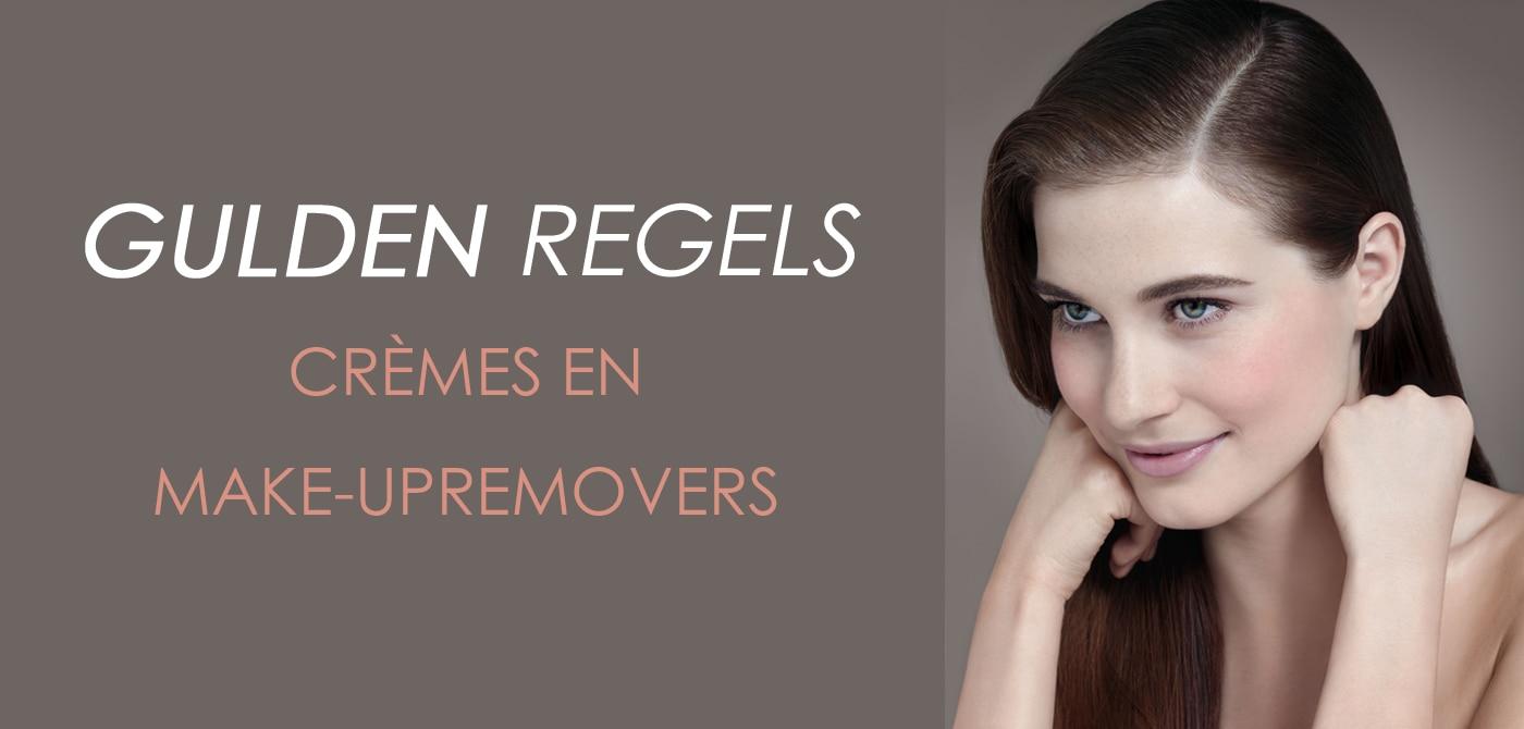 De gulden regels voor een slimme keuze van crèmes en make-upremovers