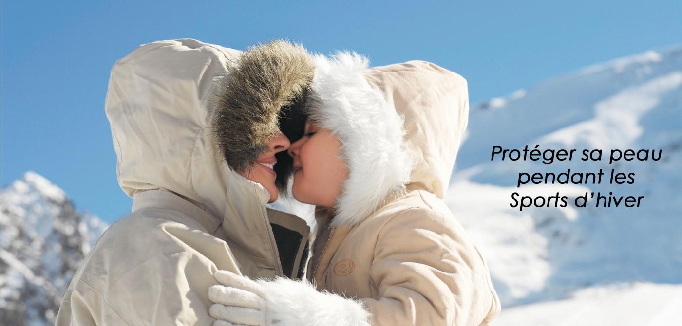 Prenez soin de votre peau pendant les Sports d'hiver