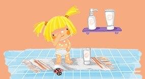 Съвети за деца с атопична кожа