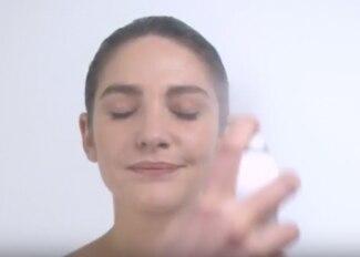 Água Termal Avène: Borrifada e massagem