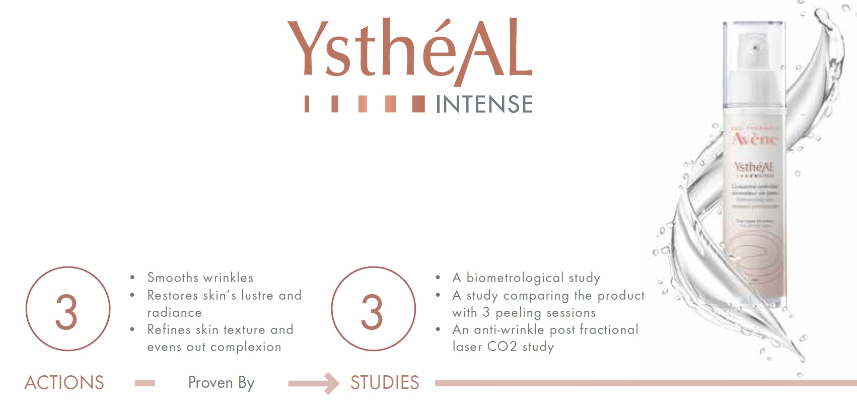 YsthéAL Intense Avène anti-aging concentrate