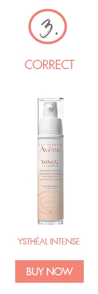Routine 3_YsthéAL Intense Avène renewal concentrate