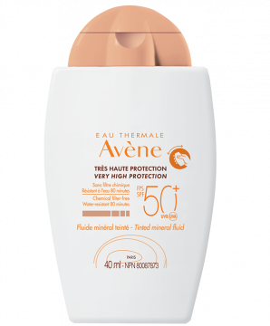 Tinted mineral fluid SPF 50+