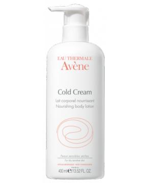 Nourishing body lotion with cold cream