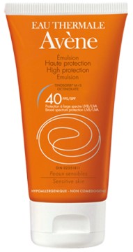 High protection emulsion SPF 40