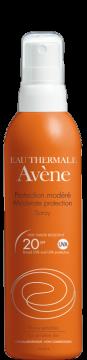 Moderate protection spray SPF 20