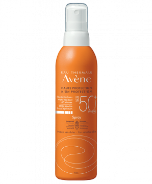 High protection Spray SPF 50+