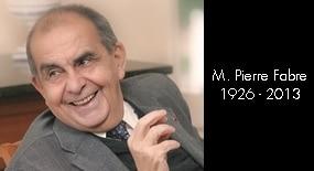 Triste nouvelle : décès de Monsieur Pierre Fabre