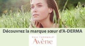 Découvrez Avène, marque soeur de A-Derma