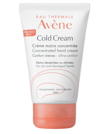 Concentrated hand cream with cold cream