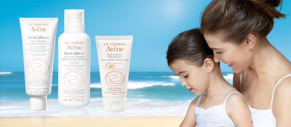 ECZEMA AND SUN: MOISTURIZE AND PROTECT!
