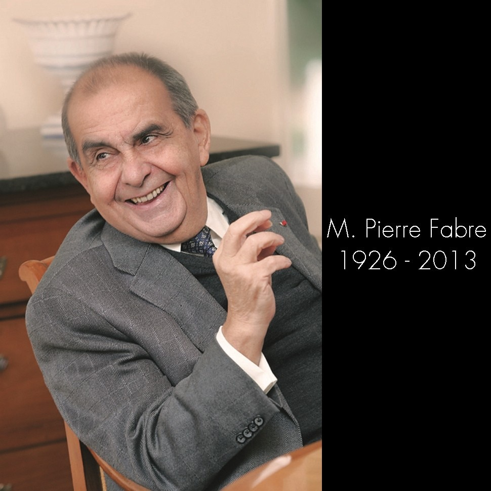 Great sadness: Passing of Mr. Pierre Fabre