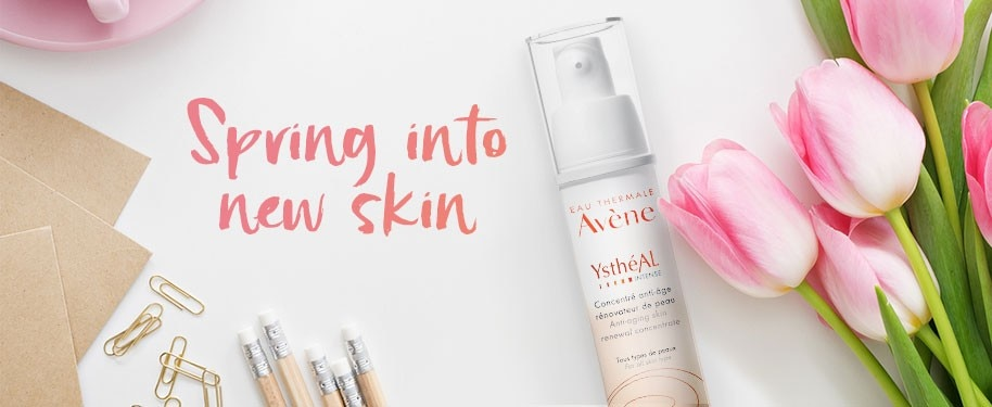 YsthéAL Intense Avène renewal concentrate