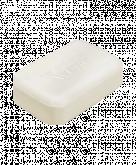 TriXera rückfettendes Waschstück mit Cold Cream.