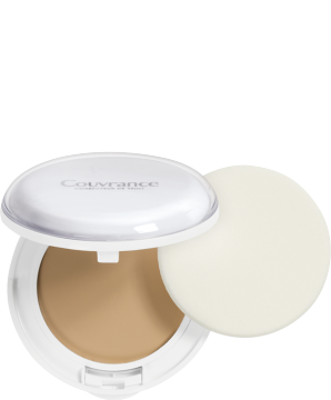 Kompakt-Creme-Make-up Mattierend