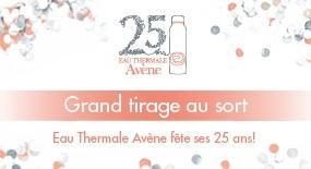 Eau Thermale Avène fête ses 25 ans