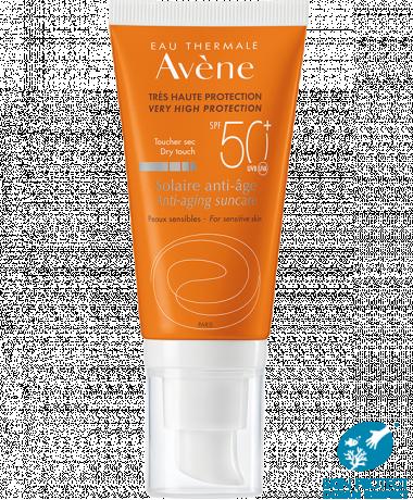 Sonnenschutz Anti-Aging SPF50+