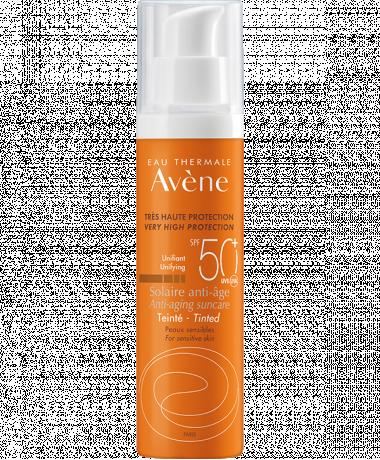 Getönter Sonnenschutz Anti-Aging SPF 50+