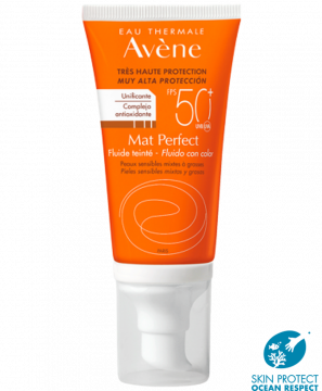 Fluido con color Mat Perfect SPF 50+