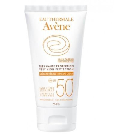 Protección Solares Crema Mineral SPF 50+
