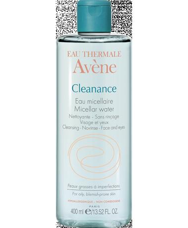 Cleanance agua micellar acné piel grasa inperfecciones