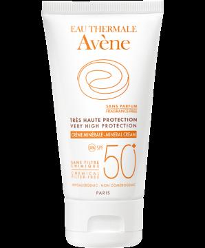 Crema mineral SPF 50+