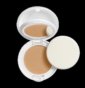 Kompaktní zmatňující make-up SPF 30 přirozený odstín