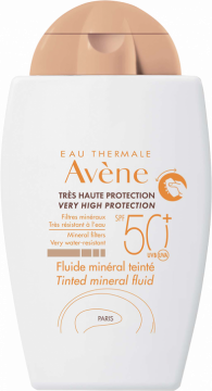 Tónovací minerální fluid SPF 50+