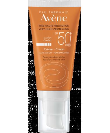 Krém SPF 50+ bez parfemace