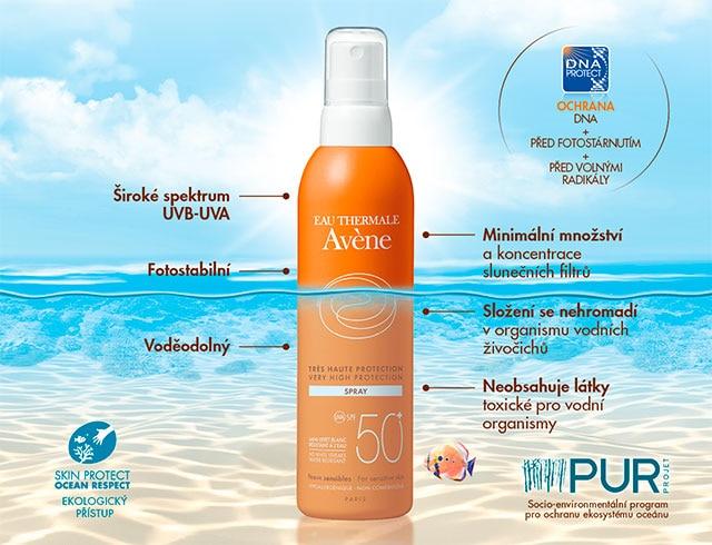 Sluneční ochrana Avene