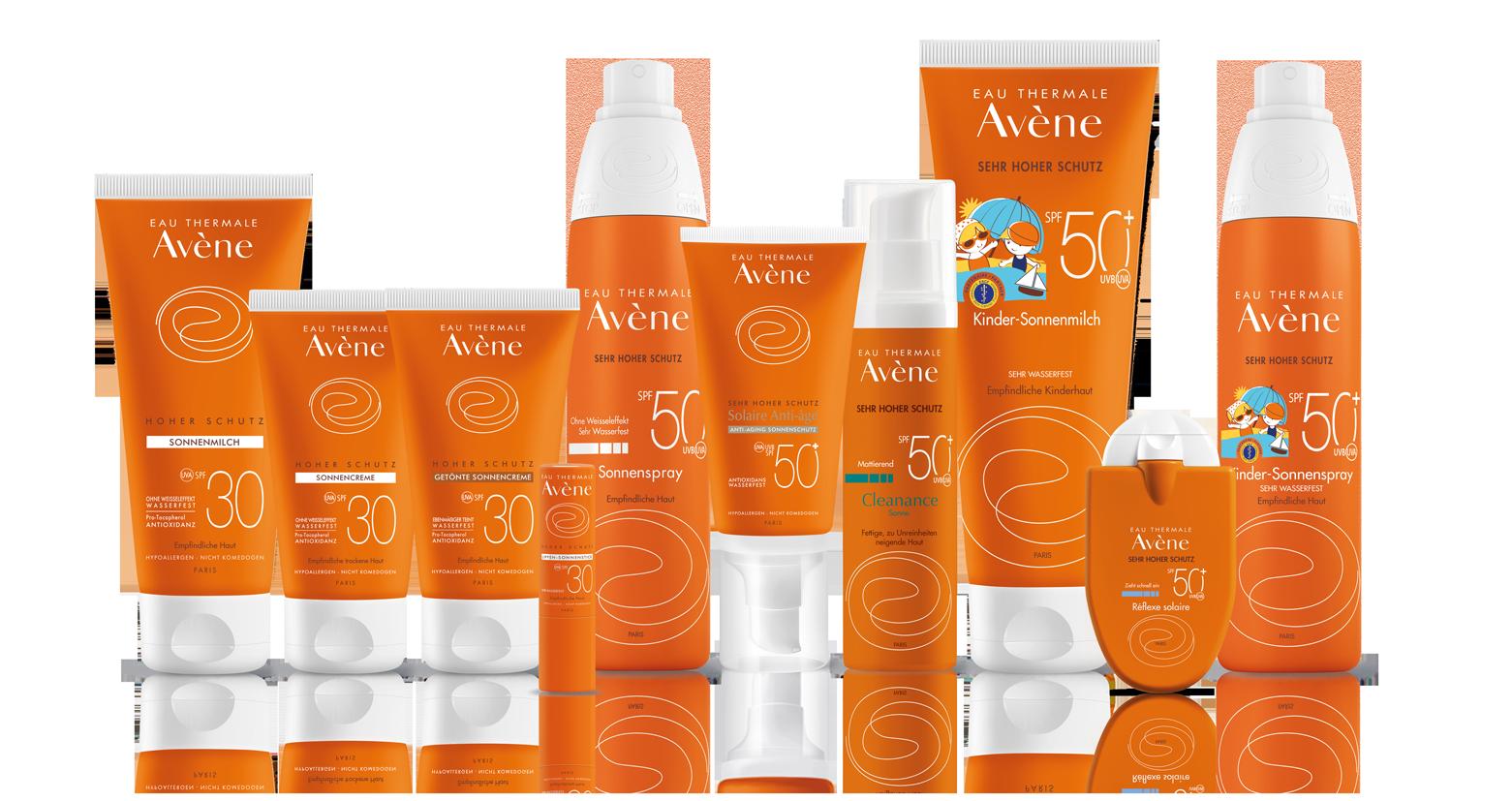 Sonnenschutz für empfindliche Haut   Eau Thermale Avène