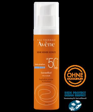 Sonnenfluid SPF 50+ ohne Duftstoffe