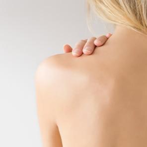 Akne Rücken