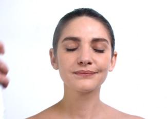 Thermalwasserspray - Gesichtsmassage