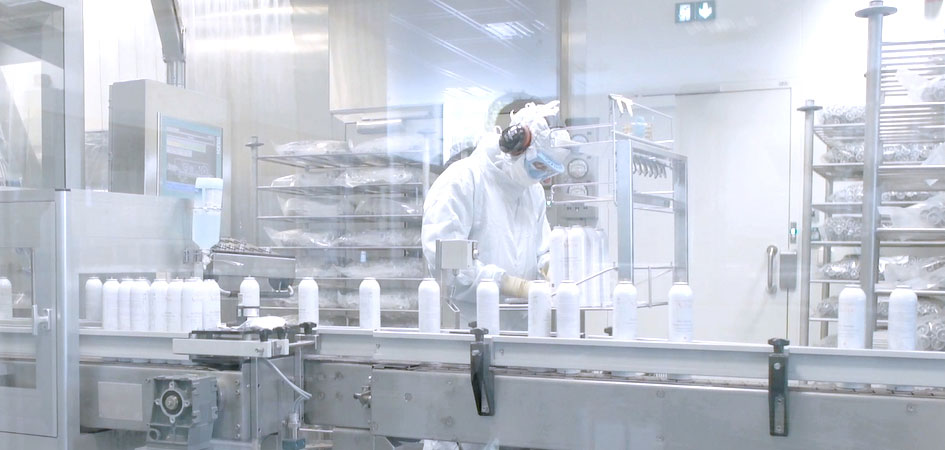 Die Produktionsanlage | Eau Thermale Avène